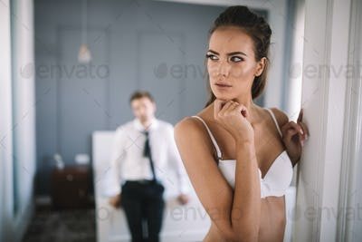 Relationship problems affecting sex drive as well