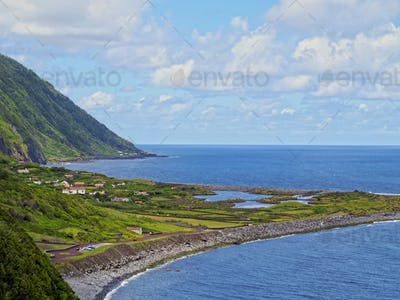 Faja dos Cubres on Sao Jorge Island, Azores