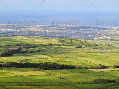Landscape of Terceira Island