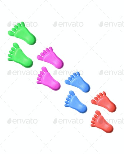 Plastic Toy Feet