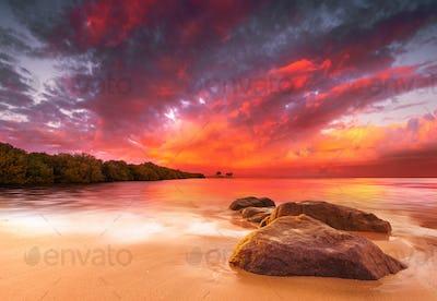 Stunning Tropical Sunset