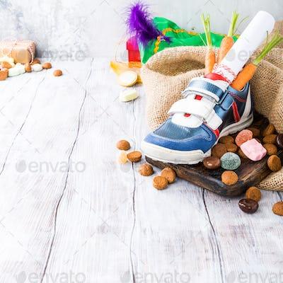 Dutch holiday Sinterklaas composition