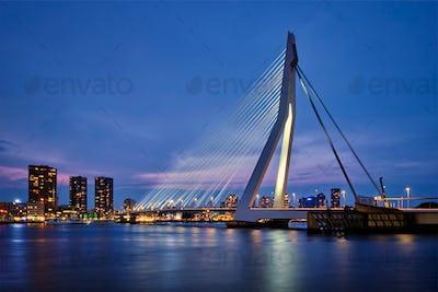 Erasmus Bridge, Rotterdam, Netherlands