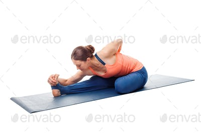 Woman doing Ashtanga Vinyasa Yoga asana