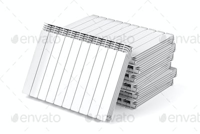 Aluminum heating radiators