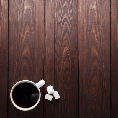 Coffee and sugar.