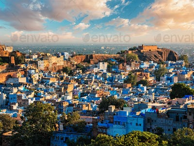 Jodhpur Blue City, India