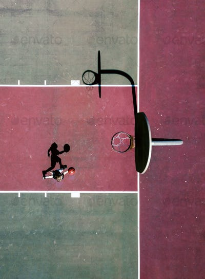 Basketball from Above