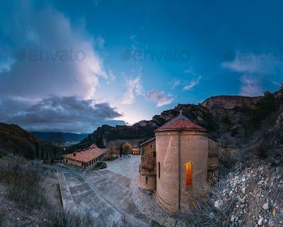 Mtskheta, Georgia. Shio-Mgvime Monastery. Upper Church Of Holy V