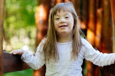 People with down sydrome are equally happy