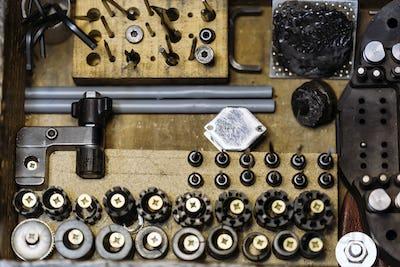 Tools of a jeweler