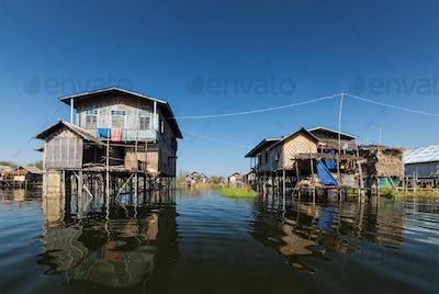 Stilted houses