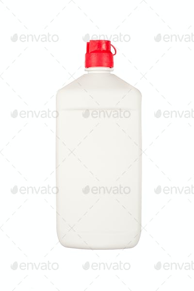 Blank plastic squirt bottle