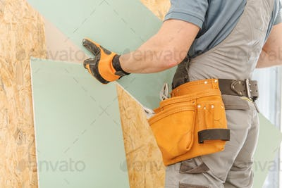 House Remodeling Worker