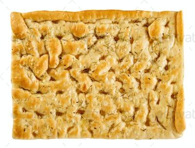 Savory focaccia bread seasoned with rosemary