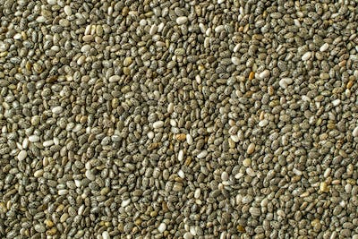 Chia Seeds Background