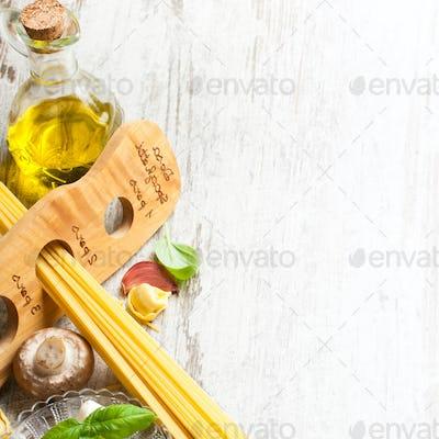 Italian food background