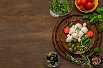 Italian cooking school concept