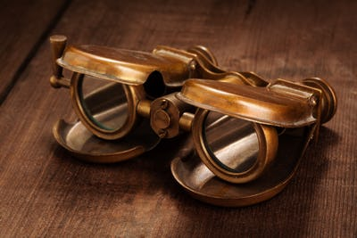 Vintage opera glasses binoculars