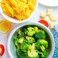 ingredients for pasta