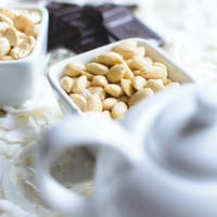 Tea time with healthy paleo snack