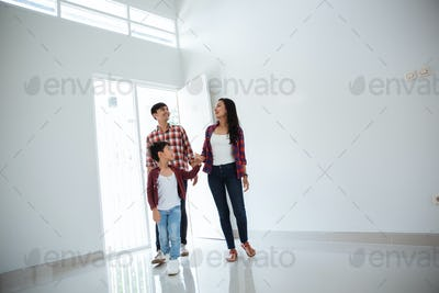 family amazed by their new home