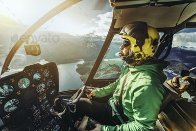 Helicopter pilot.