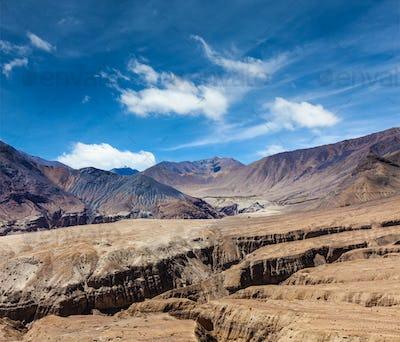 Himalayas near Kardung La pass. Ladakh, India