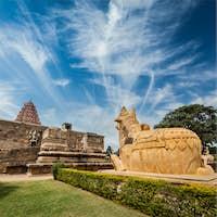 Gangai Konda Cholapuram Temple. Tamil Nadu, India