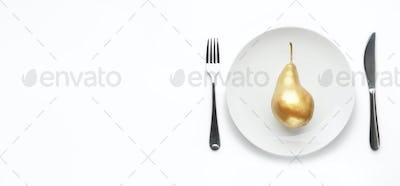 Golden standart of service concept