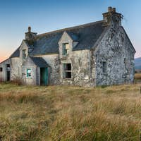 An Abandoned House on the Isle of Lewis