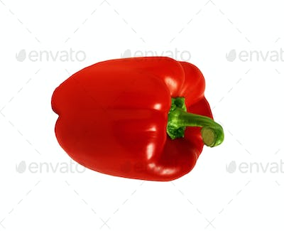 paprika isolated on white background