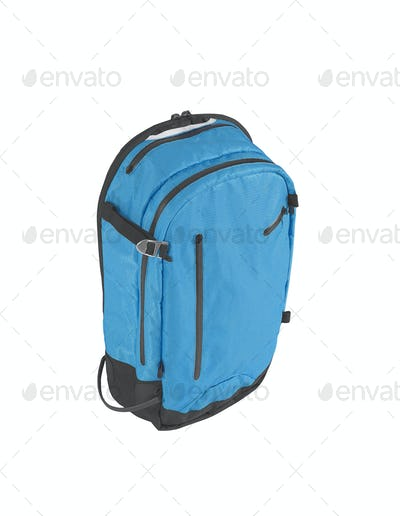 Big baggage bag isolated on white background