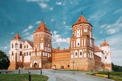 Mir, Belarus. Mir Castle Complex. Architectural Ensemble Of Feud