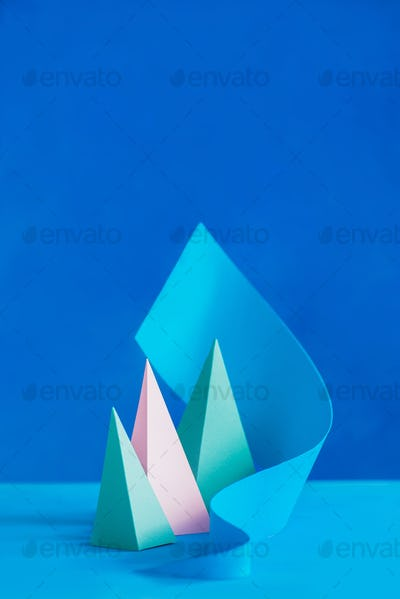 3D Triangle 3D and Pyramid Stock Photos & Royalty-Free Images