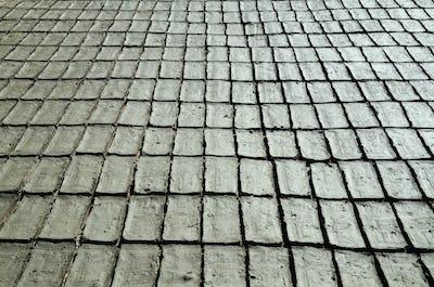 Gray bricks