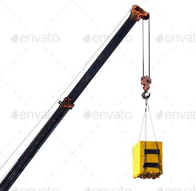 Crane and cargo