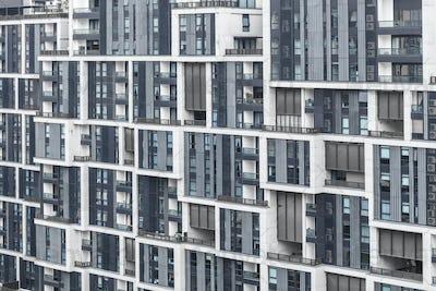 pattren of windows, modern architecture