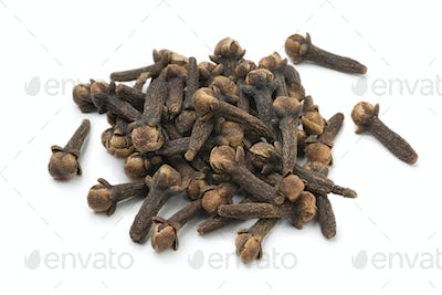 Heap of dried cloves
