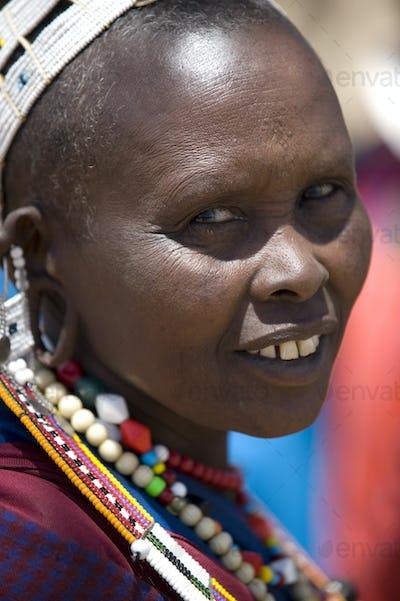 Portrait of masai