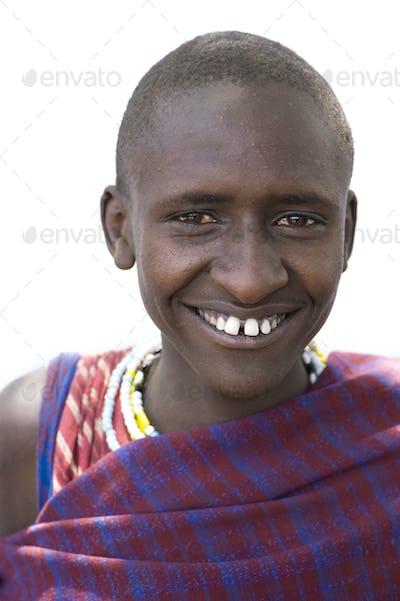 Portrait of a masai
