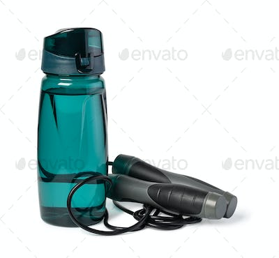 Jumping rope and Sports Bottle