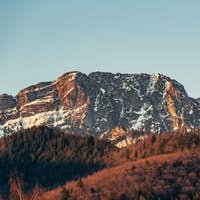 Inspiring Mountains Landscape in summer Tatras, Giewont Mountain