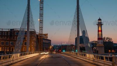 Bridge in Malmo, Sweden