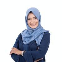 mature asian muslim woman with hijab