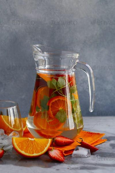 Homemade Citrus Lemonade