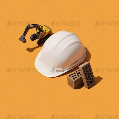 Construction industry worker