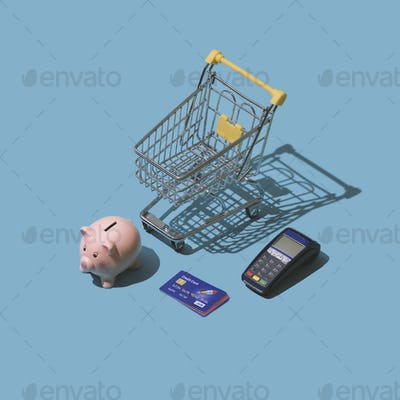 Grocery shopping with credit cards