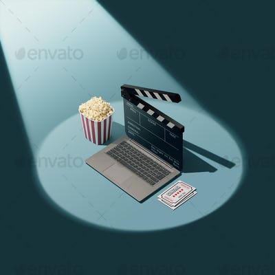 Online movie streaming and cinema