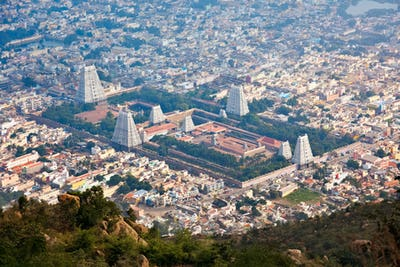 Town Tiruvannamalai, Tamil Nadu, India